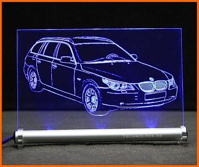 BMW 5 E61 Touring LED Leuchtschild