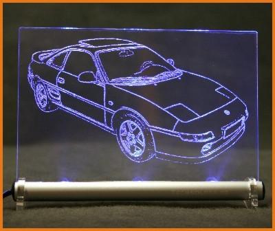 Toyota MR2 W2 LED Leuchtschild