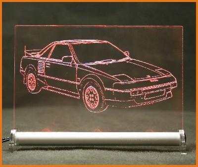 Toyota MR2 W1 LED Leuchtschild