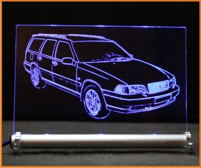 Volvo V70 LED Leuchtschild