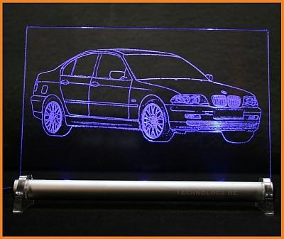 BMW 3 E46 Limousine LED Leuchtschild