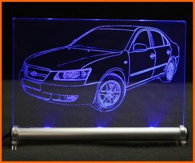 Hyundai Sonata LED Leuchtschild