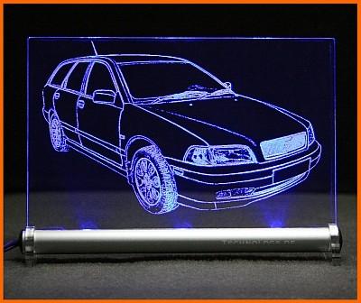 Volvo V40 LED Leuchtschild