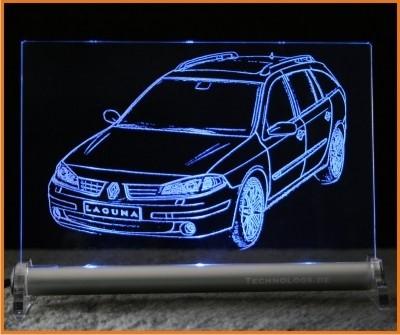 Renault Laguna Grandtour LED Leuchtschild