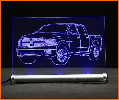 Dodge Ram LED Leuchtschild