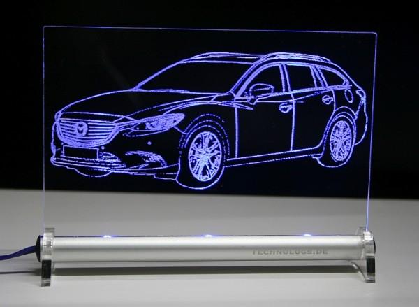 Mazda 6 GL Kombi LED Leuchtschild