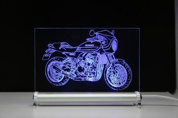 Kawasaki Z 900 rs cafe LED Leuchtschild