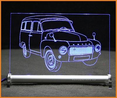Volvo PV445 Duett LED Leuchtschild