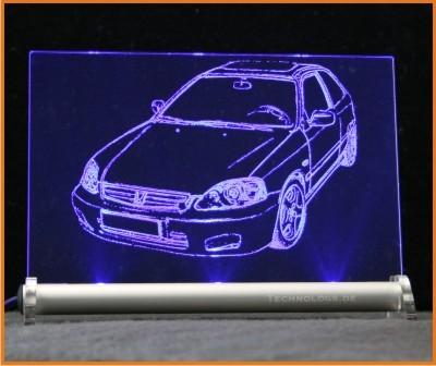 Honda Civic EJ9 Facelift ab 1999 LED Leuchtschild