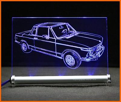 BMW 2002 Baur Targa LED Leuchtschild
