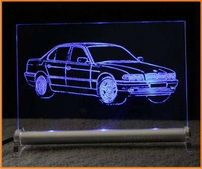 BMW 7 E38 LED Leuchtschild