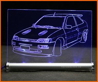 Ford Escort Cosworth MK5 LED Leuchtschild