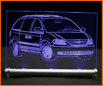 Chrysler Voyager IV RG LED Leuchtschild