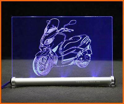 Yamaha TMAX 500 LED Leuchtschild