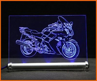 Yamaha FJR 1300A LED Leuchtschild