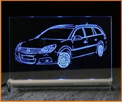 Opel Vectra C LED Leuchtschild