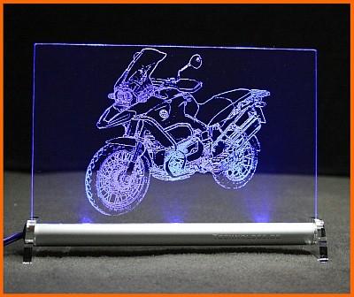 BMW R 1200 GS Adventure 2007 LED Leuchtschild