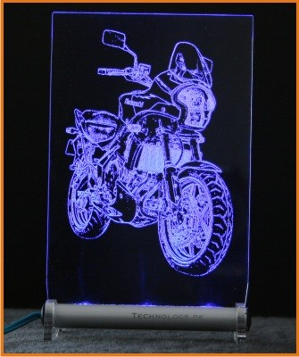 Kawasaki Versys LED Leuchtschild