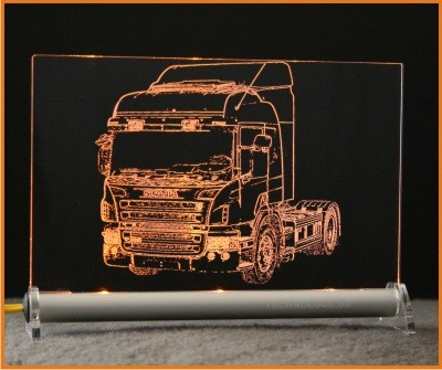 Scania P Highline LED Leuchtschild