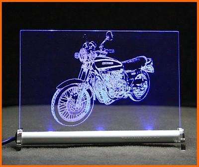 Kawasaki Z900 LED Leuchtschild