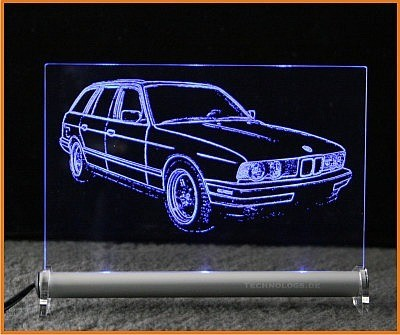 BMW 5 E34 Touring LED Leuchtschild