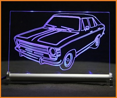 Opel Kadett Olympia A LED Leuchtschild