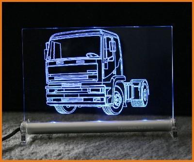 Truck LKW Zugmaschine LED Leuchtschild