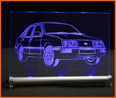 Ford Sierra LED Leuchtschild