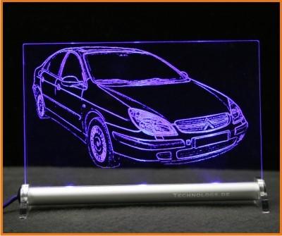 Citroën C5 LED Leuchtschild