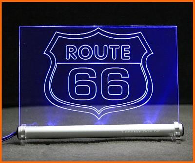 Route 66 LED Leuchtschild