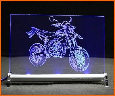 Yamaha WR 125 X LED Leuchtschild