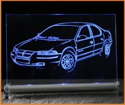 Chrysler Stratus LED Leuchtschild