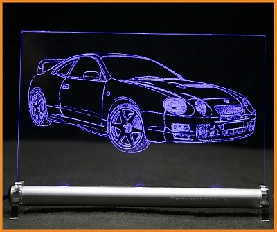 Toyota Celica T20 GT4 LED Leuchtschild