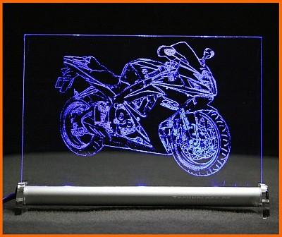 Suzuki GSX-R 600 LED Leuchtschild
