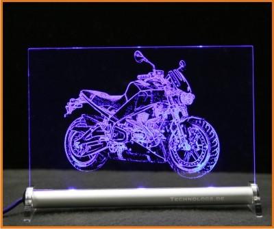 Buell Lightning XB12Ss LED Leuchtschild
