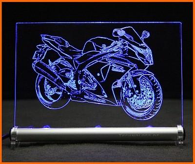 Suzuki GSX-R 1000 LED Leuchtschild