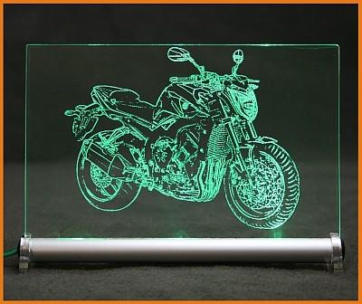 Yamaha FZ1 LED Leuchtschild