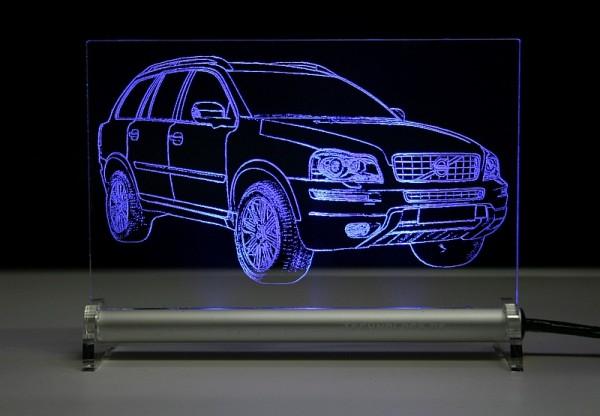 Volvo XC90 Typ C bis 2014 LED Leuchtschild