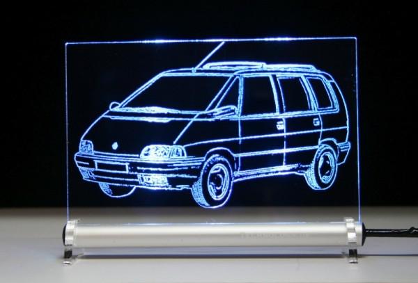 Renault Espace II J63 LED Leuchtschild