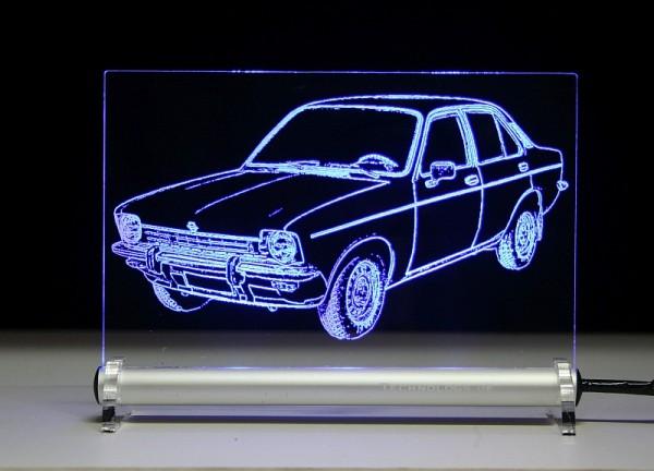 Opel Kadett C Limousine LED Leuchtschild