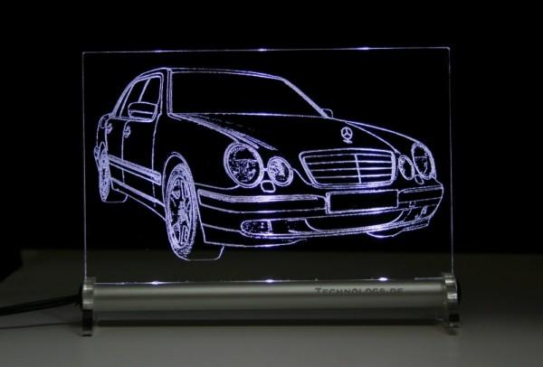 Mercedes W210 E-Klasse Limo LED Leuchtschild