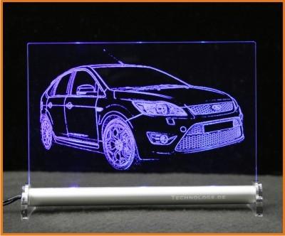 Ford Focus ST Facelift LED Leuchtschild