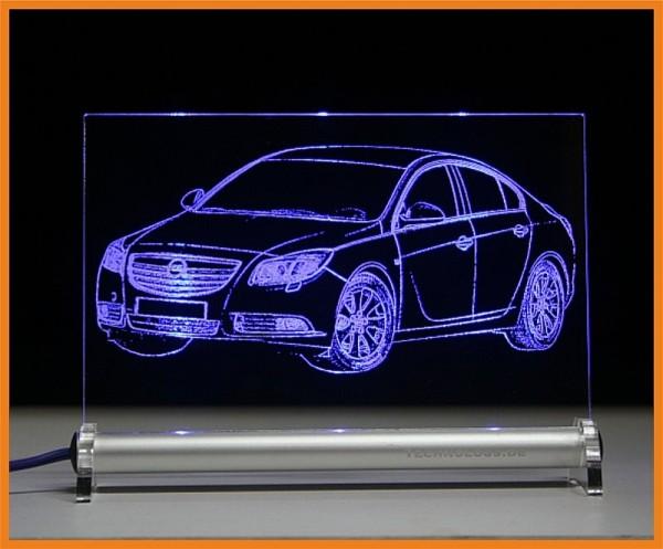 Opel Insignia LED Leuchtschild