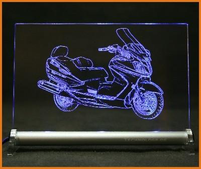 Suzuki Burgman AN650 K9 LED Leuchtschild