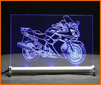Yamaha FJR 1300 LED Leuchtschild