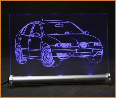 Seat Leon 1M LED Leuchtschild
