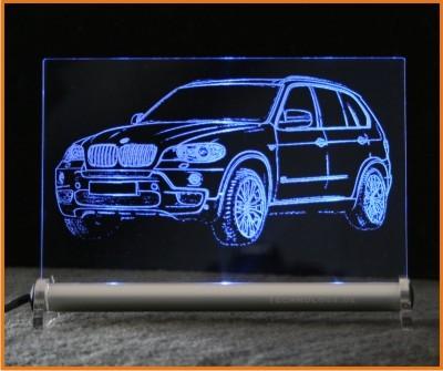 BMW X5 LED Leuchtschild