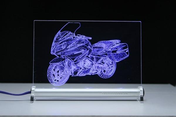 BMW R 1250 RT LED Leuchtschild