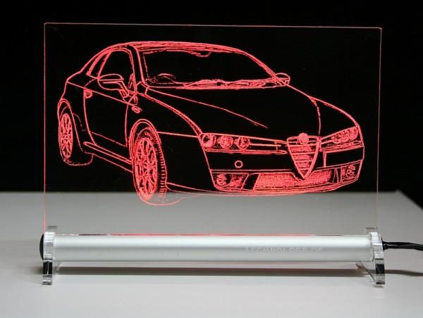 Alfa Romeo Brera LED Leuchtschild