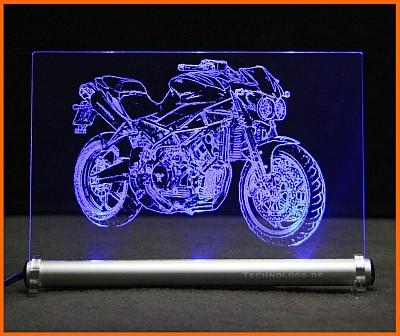 Moto Morini Corsaro Veloce LED Leuchtschild